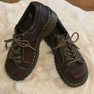 Dr. Martens Women's Melissa 6 Eye Oxford Shoes